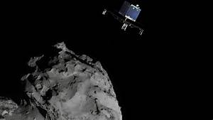 Los Angeles Rosetta Asteroid - Pics about space