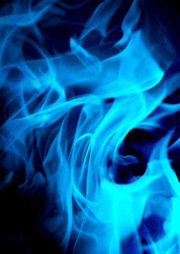 the blue of blue flames blue aesthetic