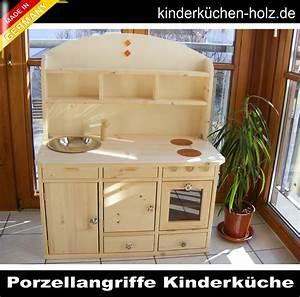 Kinderküche Aus Holz : kinderk che spielk che lara aus massivholz mit porzellangriffen ~ Orissabook.com Haus und Dekorationen