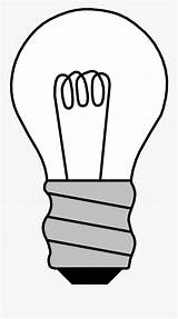 Bulb Coloring Light Clip Drawn Clipart Clipartkey sketch template