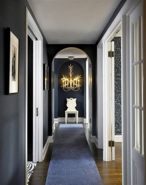 decorating ideas  small hallways