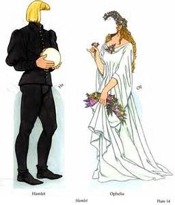 Hamlet and Ophelia Costumes