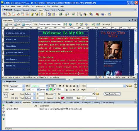 Dreamweaver Templates Torrent by Macromedia Dreamweaver Cs3 Plugins And By