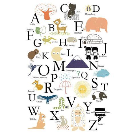 chambre bulle affiche alphabet abc annelore parot pour poisson bulle