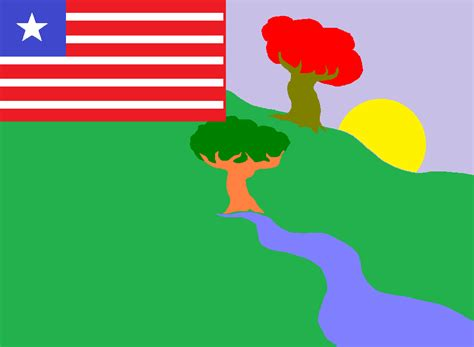 glorious flag  river gee county liberia vexillology