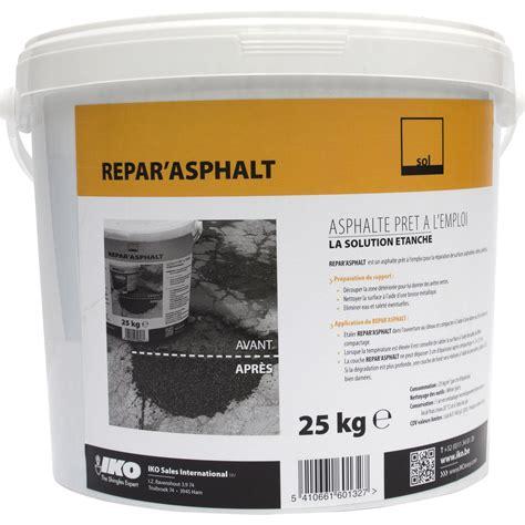 pot rangement cuisine réparation de bitume iko repar 39 asphalt 25 kg noir leroy