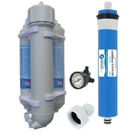 adoucisseur d eau aquarium osmoseur d aquarium 100 gpd et manom 232 tre et 2 cartouches supl 233 mentaire