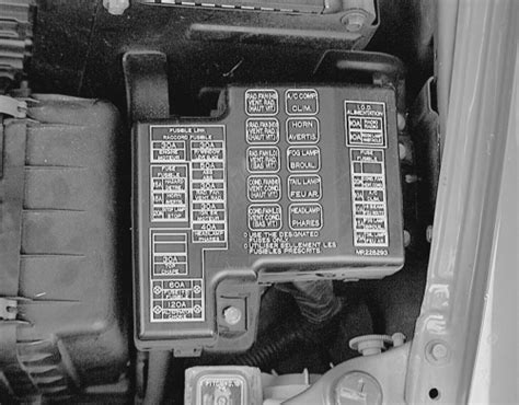 2000 Mitsubishi Eclipse Fuse Box Location by Repair Guides Circuit Protection Fuses Autozone