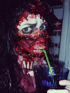Amazing zombie makeup + prosthetics!! | Halloween!