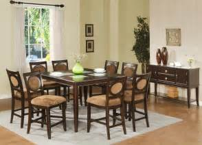 counter height dining room sets buy montblanc counter height dining room set by steve silver from www mmfurniture