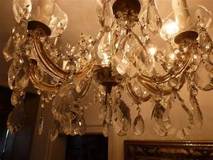 Kronleuchter Mit Kerzen Und Lampen : kristalll ster antik lampe l ster leuchter kronleuchter maria theresia 8 kerzen kristallbehang ~ Bigdaddyawards.com Haus und Dekorationen