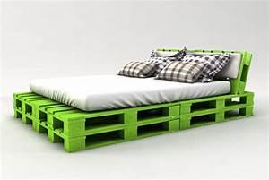 Bett Selber Bauen : palettenbett bauen ganz einfach hier 2 praktische varianten ~ Indierocktalk.com Haus und Dekorationen
