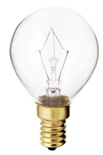 satco s3397 130v e14 base 40 watt g14 light bulb