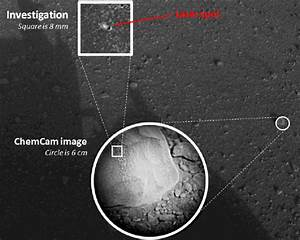 Curiosity's ChemCam Laser Analyzes its First Martian Rock