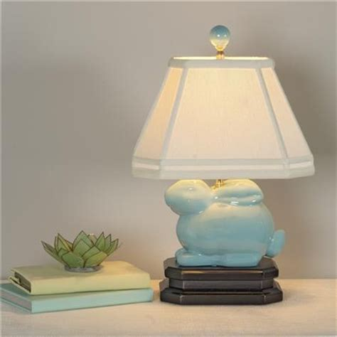 ceramic bunny table lamp bunnies lamps  table lamps