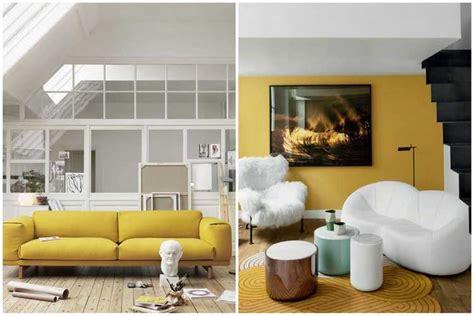 la redoute housse canapé la couleur jaune moutarde pour un intérieur chaleureux
