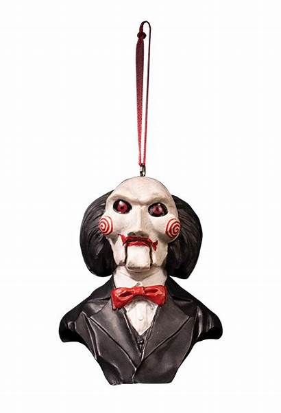Saw Billy Ornament Puppet Horror Halloween Holiday
