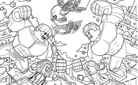lego avengers da colorare stampae colorare