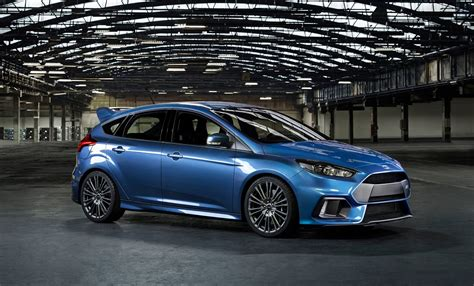 New Ford Focus Rs With Four-wheel Drive And Power Over 320