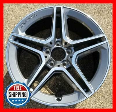"We have the best products at the right price. MERCEDES C300 2019 2020 Factory OEM Wheel 18X8.5"" REAR 85696 2054019600 #A 