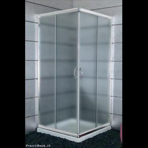 box doccia 65x65 cabina box doccia cristallo 6mm opaco 65x65 x 185 n