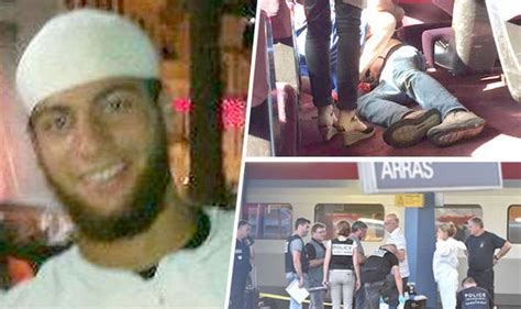 france train attack father  train gunman claims  son