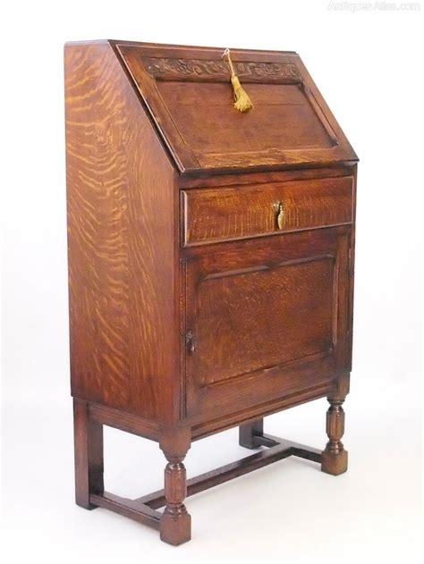 oak bureau desk small oak bureau writing desk antiques atlas