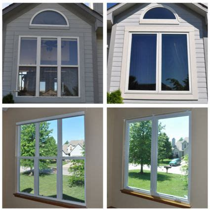 top  window ideas   ranch style house