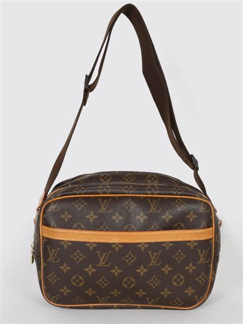 louis vuitton reporter pm monogram canvas luxury bags