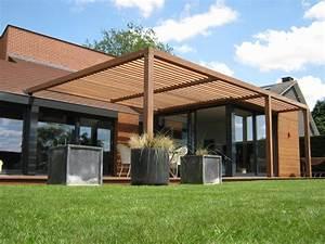 Pergola lumilicia wood inspirations for Pergola terrasse