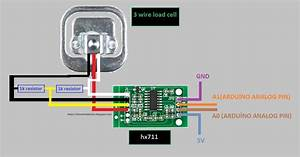 Mekatronic  3 Wire Load Cell Using For Arduino