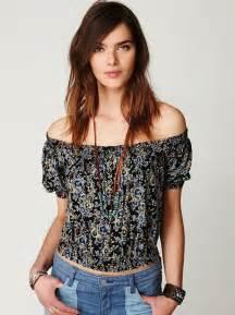 Off Shoulder Shirt Girl