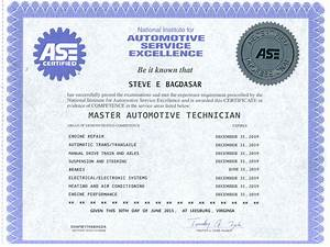 Ase certificate template 28 images ase certificate template 28 images ase certification ase for Fake ase certification