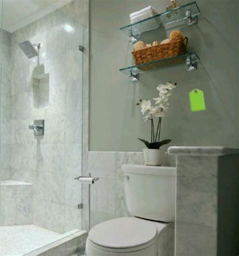 glass shelf  toilet bathroom glass shelf pinterest
