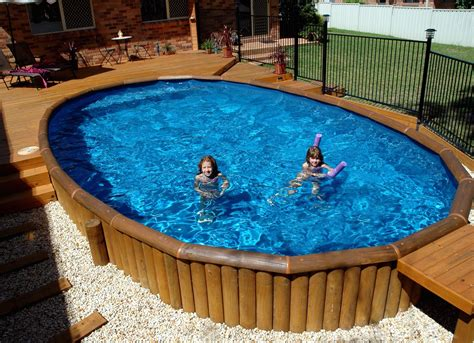 Backyard Swimming Pools Above Ground by Above Ground Pool Helena Source Net