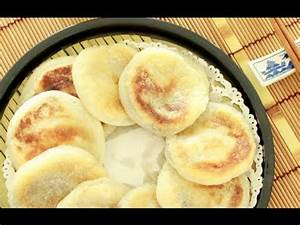 How to Make Pan fried Glutinous Rice Cakes 燒餅 ( HEALTHY