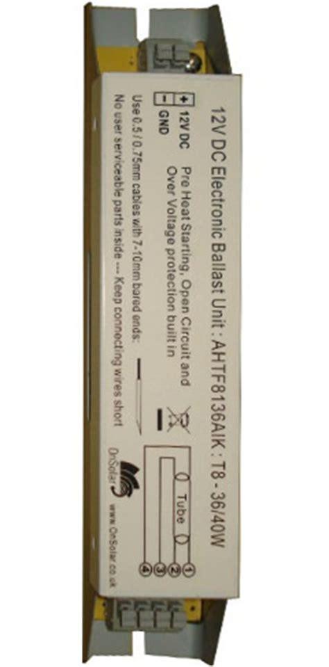 Watt Volt Fluorescent Tube Ballast