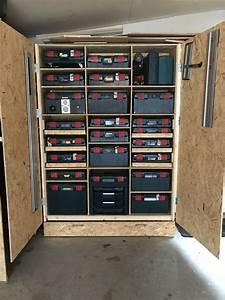 Rangement Outils Garage : pingl par bugii sur warsztat pinterest atelier rangement et outils ~ Melissatoandfro.com Idées de Décoration