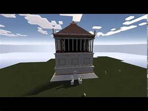 Minecraft: Mausoleo de Halicarnaso/ Mausoleum at ...
