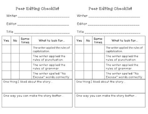free revising and editing practice 4th grade exercise