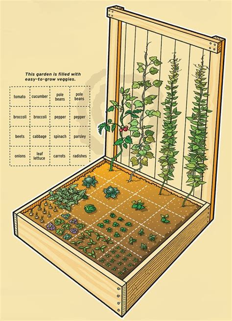 Vertical Square Foot Gardening by Small Space Gardening Growing Food In A Tiny House Or