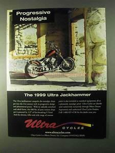 1999 Ultra Jackhammer Motorcycle Ad