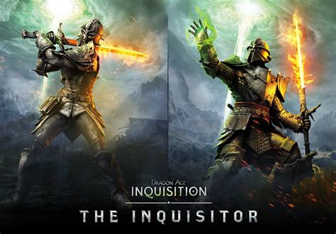 New Dragon Age Inquisition Artwork Shows Female And Male