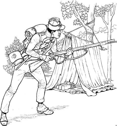 soldat vor zelt ausmalbild malvorlage schlachten