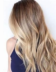 Balayage Cheveux Frisés : cheveux longs balayage coiffure cheveux longs des coupes de cheveux longs pour un look canon ~ Farleysfitness.com Idées de Décoration