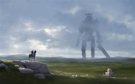 Shadow Of The Colossus Fan Art By Lionsketch On Deviantart