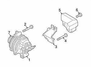 Mazda 6 Alternator Air Duct  W  O Mazdaspeed6  2 3 Liter