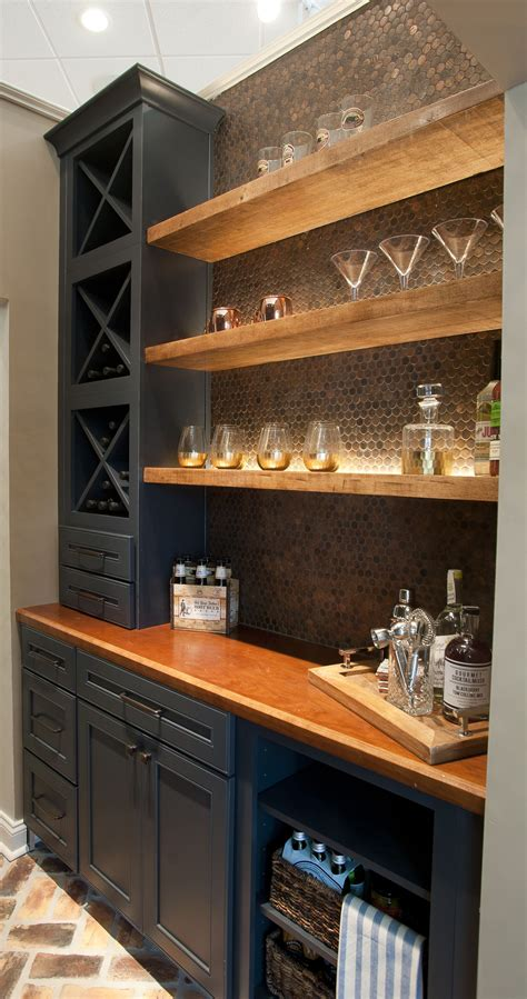 Basement Bar Cabinet Ideas by 55 Magnificent Basement Bar Ideas For Home Escaping And