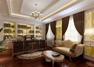 The most luxurious design of the executive office ...