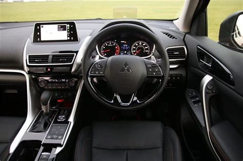 mitsubishi eclipse cross  car review interior